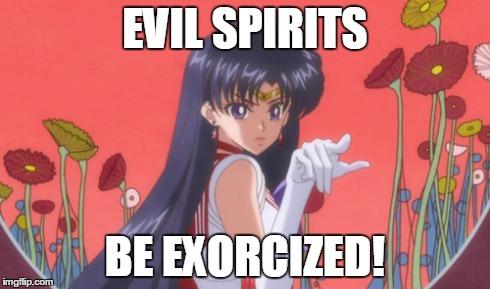 Sailor Mars Says